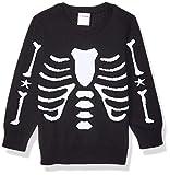 Spotted Zebra Pullover Crew Sweaters, Esqueleto, L