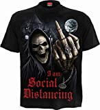 Spiral - Social Distance - Camiseta - Negro - XL