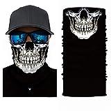 Pañuelo 3D para el cuello, la cabeza, ciclismo, multifunción, cinta para la frente, resistente al viento, para moto, esquí, snowboard, pasamontañas, Halloween, Hombre, S30/096.