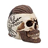 Nemesis Now Ragnar Skull - Figura Decorativa (16 cm), diseño de Calavera