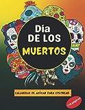 Dia de los Muertos - Calaveras de Azúcar para colorear: Libro de coloreados para adultos | 110 páginas | de tamaño grande