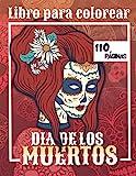 Libro para colorear - Dia de los Muertos: Calaveras de Azúcar | 60 colorerados para adultos | 110 páginas | de tamaño grande