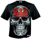 Mi Barrio Art Big Skull Frankfurt - Bandana para hombre, color negro Negro XXL