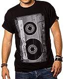 Camiseta Musica Hombre - Caseta - Negro M