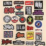 Coser O Planchar En Los Parches Apliques Para Ropa, estilo punk punteado de 27 piezas de letras largas