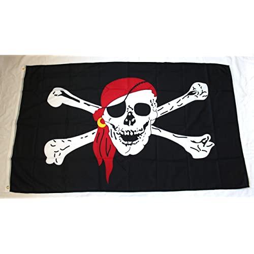 Prom #1 Bandana - Bandera pirata (150 x 90 cm)
