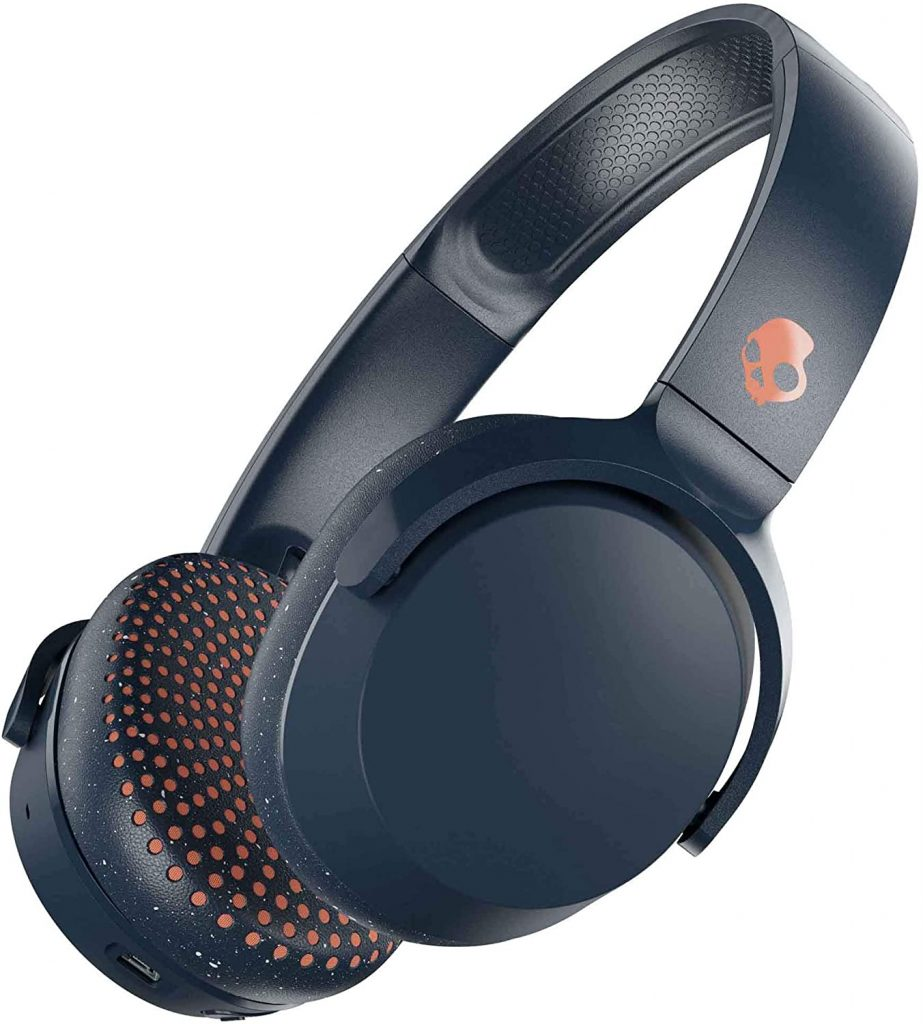 Skullcandy-Riff-Wireless-Auriculares-Bluetooth-auriculares-calavera
