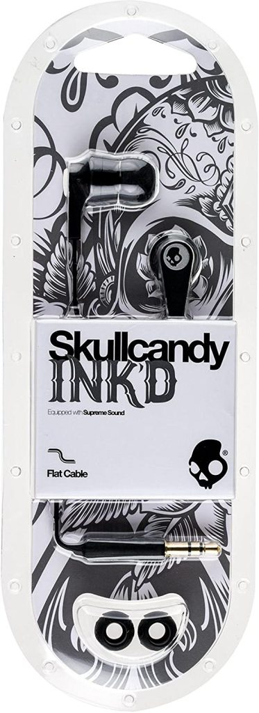 Skullcandy-S2IKDZ003-Ink´d-Auriculares-in-ear-auriculares-calavera
